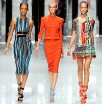 Коллекция Versace весна-лето 2011
