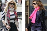 Выбираем модный шарф