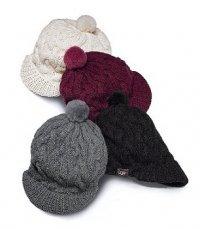 Тренд 2011-2012: модные вязаные шапки