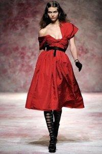 Мода осень-зима 2011-2012: коктейльные и вечерние платья. Часть 1-ая