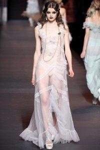Мода осень-зима 2011-2012: коктейльные и вечерние платья. Часть 2-ая
