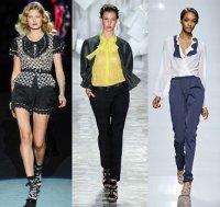 Тенденции весна-лето 2012: модные блузки