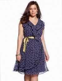 Летняя мода 2012 для полных