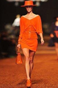 Главный цвет наступившего 2012 года - оранжевый