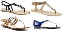 Модные сандалии лета 2012