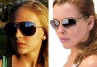 Популярные солнцезащитные очки - очки-«авиаторы»