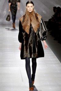 Тенденции зимы 2013: модные дубленки