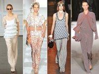 Тенденции моды весна-лето 2013 пижамный стиль одежды