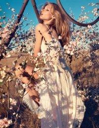 Образ девушки весна-лето 2013 от Blumarine
